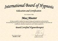 ibh-zertifikat